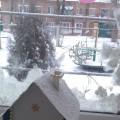 Мастер-класс объемной поделки из картона «Домик в снегу»