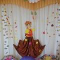 Оформление музыкального зала на осенние утренники в детском саду