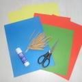 Дидактическая игра «Разноцветные палочки» для детей первой младшей группы
