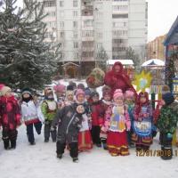 Развлечение в детском саду «Коляда, коляда, отворяй-ка ворота!»