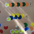 Математическая игра «Гусеницы, на старт!»
