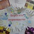 Фотоотчет о выступлении агитбригады подготовительной группы «Берегите первоцветы»