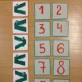 Дидактическая игра на формирование элементарных математических представлений «Жадный крокодил»