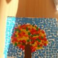 Мастер-класс. Изготовление «Чудесного осеннего дерева» с помощью пластилинографии и аппликации «мозаика»