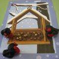 Конспект интегрированного занятия в средней группе: «Снегирь-птица зимняя» с элементами пластилинографии.