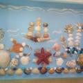 Мини-музей «Ракушка»— композиция из ракушек.