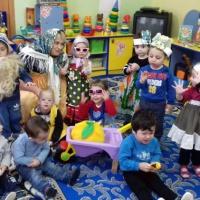 Фотоотчет «Театрализованная деятельность в первой младшей группе»