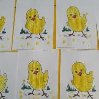 Конспект ООД по рисованию пальчиком во второй младшей группе на тему «Цыплёнок»