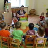 День открытых дверей в ясельной группе детского сада «Путешествие с колобком»