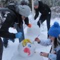 Фотоотчёт «Зимняя сказка пришла на участок»