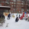 Фотоотчет «Снежные скульптуры»