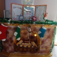 Фотоотчет об изготовлении камина «Новогодний фальш-камин»
