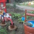 Оформление территории детского сада «Добро пожаловать в сказку»