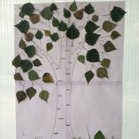 Коллективная работа детей средней группы «Берёзка»