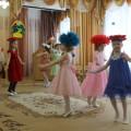 Фотоочёт музыкального праздника для мам «Весенний конкурс шляп»