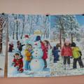 «Зимняя сказка»— новогоднее оформление группы и совместное творчество родителей с детьми