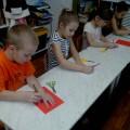 Мастер-класс аппликации из цветной бумаги «Дед Мороз в гостях у детей»