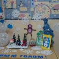 Оформление выставки совместного творчества родителей и детей «Новогодняя сказка»