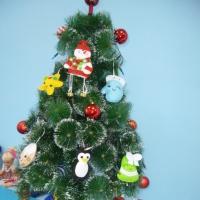 Новогодние поделки и игрушки из фетра «Сказка своими руками!» Фотоотчет