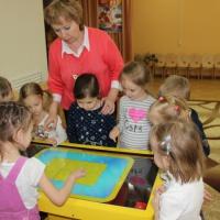 Использование интерактивного стола в дошкольном образовании.
