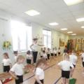 Конспект открытого занятия по физической культуре в средней группе «Ёжик вышел погулять»