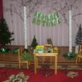 Оформление музыкального зала к осеннему театрализованному представлению «Лесная аптека»