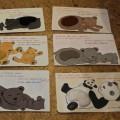 Дидактическая игра «Весёлые медвежата»