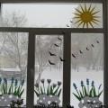 Мастер-класс «Украшаем окна к весне»