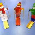 Мастер-класс по изготовлению пособия для развития воздушной струи «Лыжник»