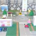 Дидактическая игра «Микрорайон» для ознакомления с правилами дорожного движения