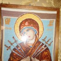 Фотозарисовка «Мое хобби. Вышивка крестом и бисером»