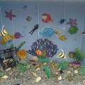 Макет аквариума в уголок природы
