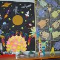 Фотоотчет ко Дню Космонавтики «Наша необъятная вселенная»