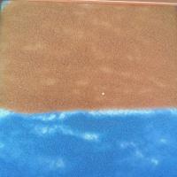 Мастер-класс с пошаговыми фото «Рисование на песке для детей 5–7 лет»