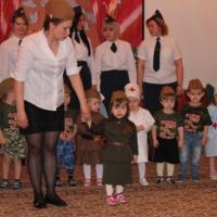 Фотоотчет «Музыкальный фестиваль военной песни» посвященный празднику 9 Мая