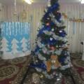 Оформление музыкального зала к новогодним праздникам в детском саду