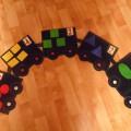 «Волшебный паровозик». Дидактическая игра по математике для детей 3–5 лет