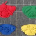 Дидактическая игра по сенсорному развитию «Разноцветные тарелочки»