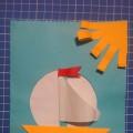 Мастер-класс по изготовлению поздравительных открыток для папы или дедушки «С днем защитника Отечества» (средняя группа)