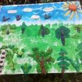 Фотоотчет «Выросли деревья в поле»