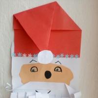 Мастер-класс по конструированию из бумаги «Дед Мороз»