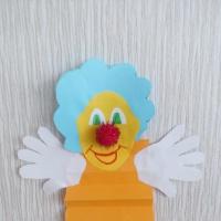 Мастер-класс по аппликации «Веселый клоун»