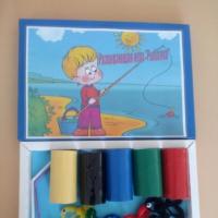 Мастер-класс по созданию развивающей игры из бросового материала «Рыбалка» для воспитанников 2–3 лет