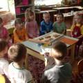 Фотоотчет об открытом занятии по лепке в средней группе «Лепка угощения из сдобного теста»