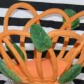 Мастер-класс «Изготовление вазочки-плетенки из соленого теста»
