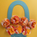 «Букетики для мамы и бабушки к 8 марта». Мастер-класс для детей