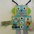 Книга-трансформер «Робот «Арифмет». Дидактическое пособие по ФЭМП