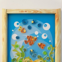 Квиллинг— совместное творчество родителей и детей. Выставка в МАДОУ