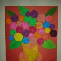 Мастер-класс по изготовлению открытки к 8 марта