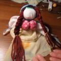 Народная лоскутная кукла своими руками